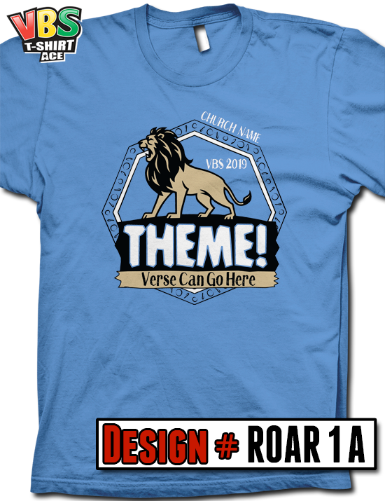 VBS - ROAR! - VBS T-Shirts - Awesome Screen Printed Shirts for Your