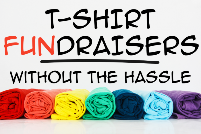 We Offer T-Shirt Fundraising