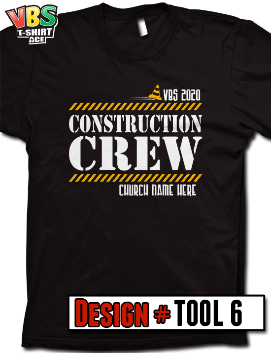 Concrete Construction Vbs T Shirts